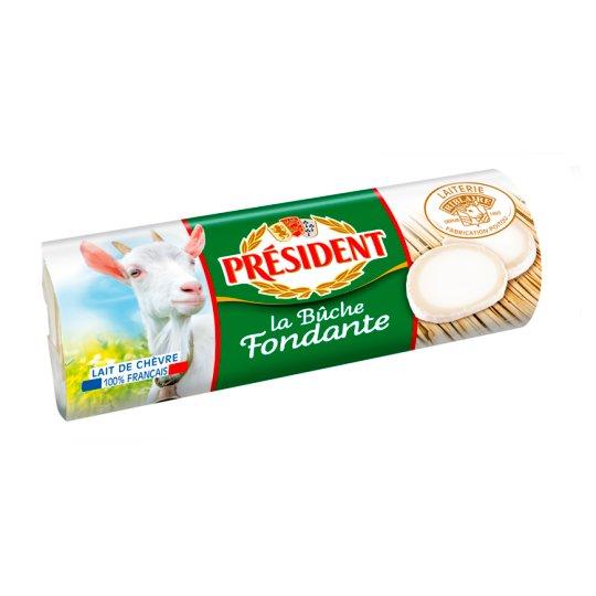 Président La Buche Fat, Light Goat Cheese 180 g