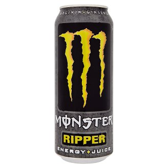 Monster Energy Ripper Mixed Fruit Flavoured Carbonated Drink 500 ml