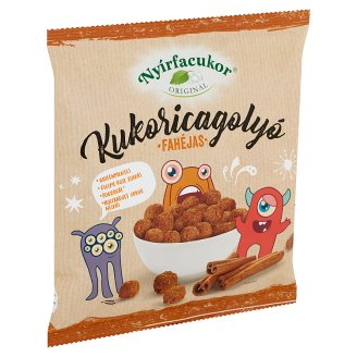 Nyírfacukor Gluten-Free Corn Balls with Cinnamon 60 g