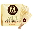 Magnum Mini Multipack White Ice Cream Selection 6 x 55 ml