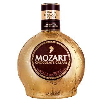 Mozart Gold csokoládé krémlikőr 17% 0,5 l
