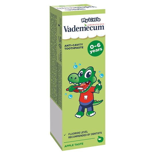 Vademecum My Little Mild Apple Taste Toothpaste 0-6 Years 50 ml