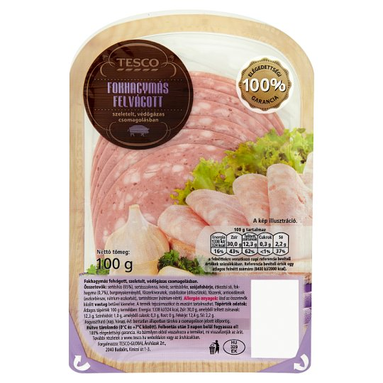 Tesco Garlic Cold Cuts 100 g
