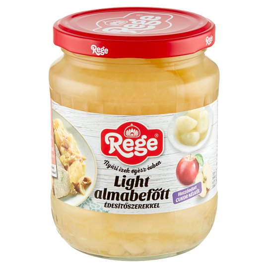 Rege Light Preserved Apple with Sweeteners 560 g