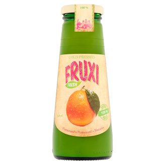 Fruxi Fresh Narancs friss gyümölcsből préselt 100% gyümölcslé 250 ml