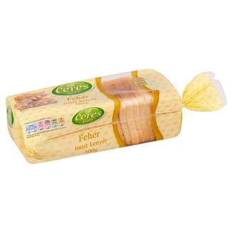 Ceres Sütő White Toast Bread 500 g