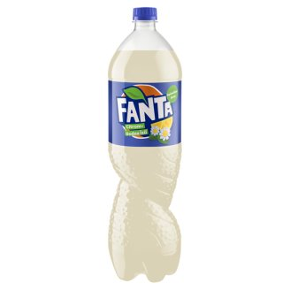 Fanta Lemon-Elderflower Flavoured Carbonated Soft Drink 1,75 l