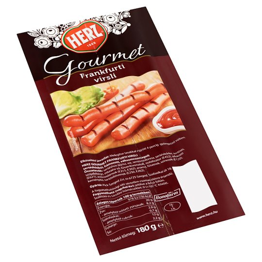 HERZ Gourmet frankfurti virsli 180 g