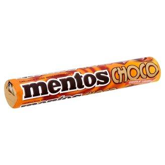 Mentos Choco Caramel Sugar Dragées Filled with Chocolate 38 g