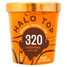 Halo Top Peanut Butter Cup Ice Cream with Sugar and Sweeteners 473 ml