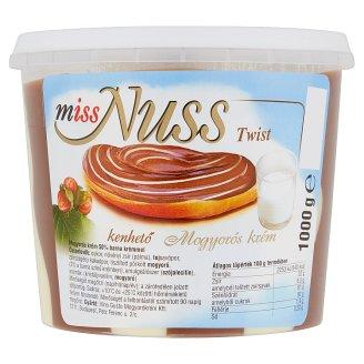 Miss Nuss Twist kenhető mogyorós krém 1000 g
