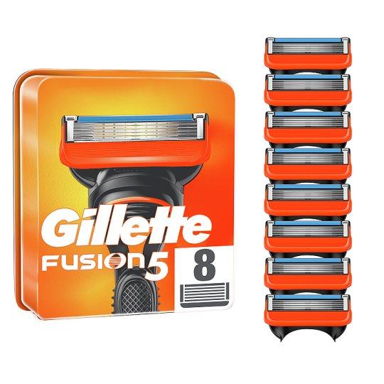 Gillette Fusion5 Razor Blades For Men, 8 Refills