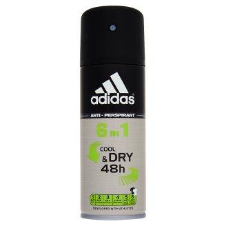 Adidas Cool & Dry 48h 6 in 1 izzadásgátló dezodor 150 ml