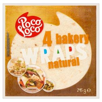 Poco Loco tortilla búzalisztből 4 db 245 g