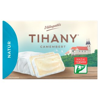 Tihany Válogatás Szendvics Camembert Unflavoured Fat Soft Cheese 120 g