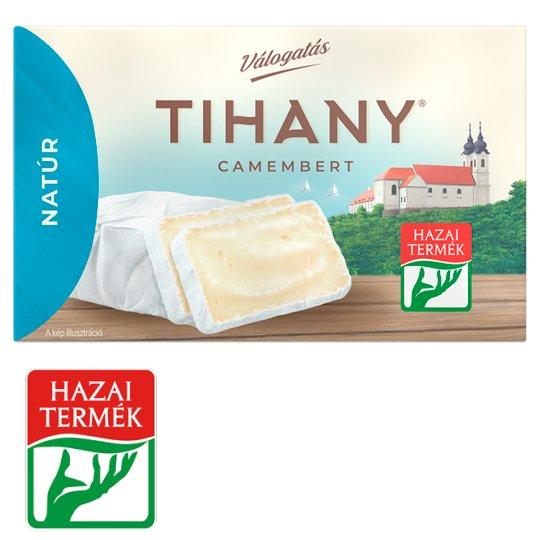 Tihany Válogatás Szendvics Camembert Unflavoured Fat Soft Cheese 120 g