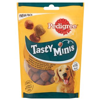 Pedigree Tasty Bites Complementary Pet Food for Adult Dogs with Chicken 130 g