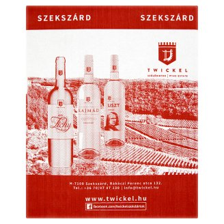 Twickel Szekszárdi Cabernet Cuvée Dry Red Wine 13% 5 l