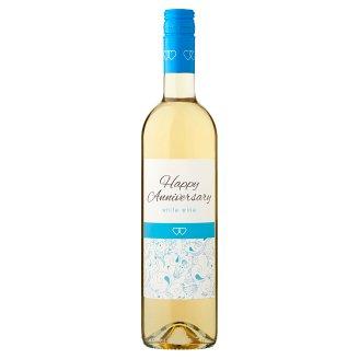 Wine Concept Happy Anniversary Debrői Hárslevelű klasszikus félédes fehérbor 12,5% 0,75 l