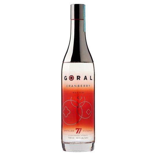 Goral Cranberry vodka 40% 700 ml