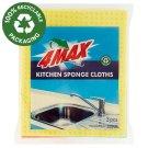 4MAX Kitchen Sponge Cloths 3 pcs