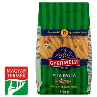 Gyermelyi Vita Pasta Penne Durum Wheat Dry Pasta 500 g