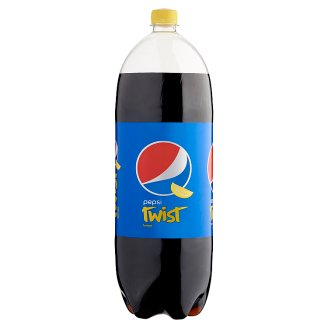 Pepsi Twist Cola Flavoured Carbonated Drink with Lemon Aroma 2,5 l