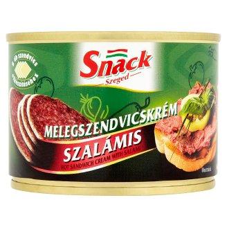 Snack Szeged Hot Sandwich Cream with Salami 190 g
