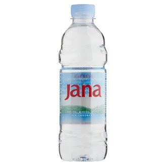 Jana Non-Carbonated Natural Mineral Water 0,5 l