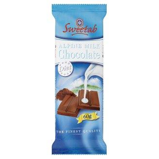 Sweetab Dietetic Milk Chocolate with Sweeteners 60 g