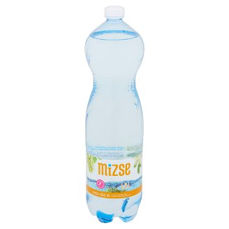 Mizse Elder-Grape Flavoured Natural Mineral Water Based Carbonated Drink Sweeteners 1,5 l
