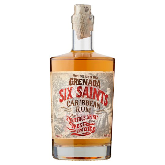 Six Saints Rum 41,7% 0,7 l