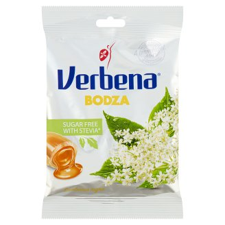 Verbena Light Elder Flavoured Sweets with Sweeteners and Vitamin C 60 g