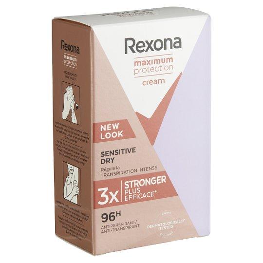 Rexona Maximum Protection Sensitive Dry izzadásgátló krém 45 ml
