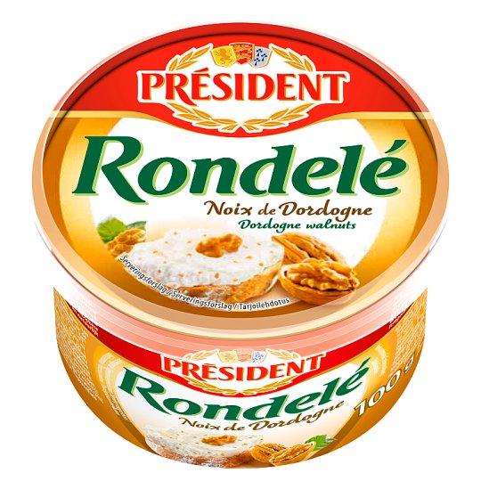 Président Rondelé Cheese Spread with Walnut 100 g