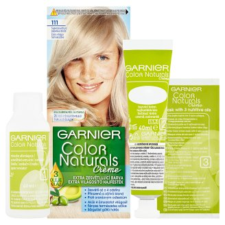 image 2 of Garnier Color Naturals Crème 111 Extra Bright Bloomy Blonde Extra Lightening Hair Colorant