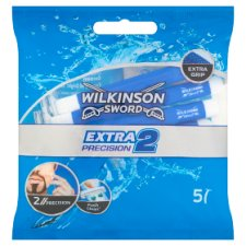 Wilkinson Sword Extra2 Precision 2 Blade Disposable Razors 5 pcs