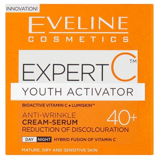 Eveline Cosmetics Expert C 40+ Anti-Wrinkle Cream-Serum 50 ml