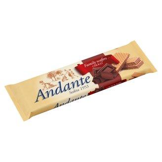 Andante kakaós-csokoládés ízű krémmel töltött ostyák 130 g