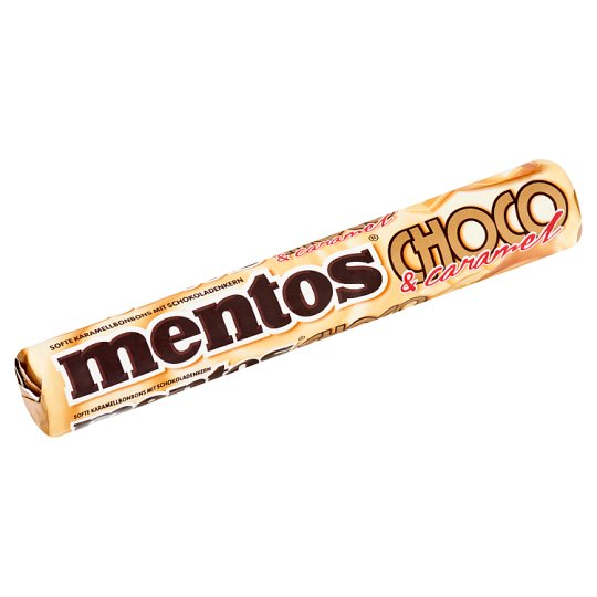 Mentos Caramels Filled with White Chocolate 38 g