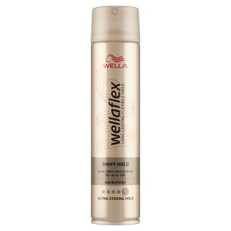 Wella Wellaflex Shiny Hold Ultra Strong Hold Hairspray 250 ml