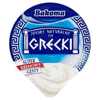 Bakoma Greek natúr joghurt 180 g