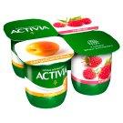 Danone Activia élőflórás, zsírszegény sárgabarackos és málnás joghurt 4 x 125 g