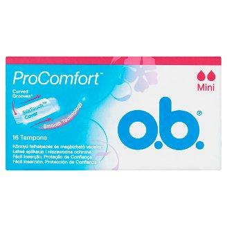 o.b. ProComfort Mini Tampons 16 pcs