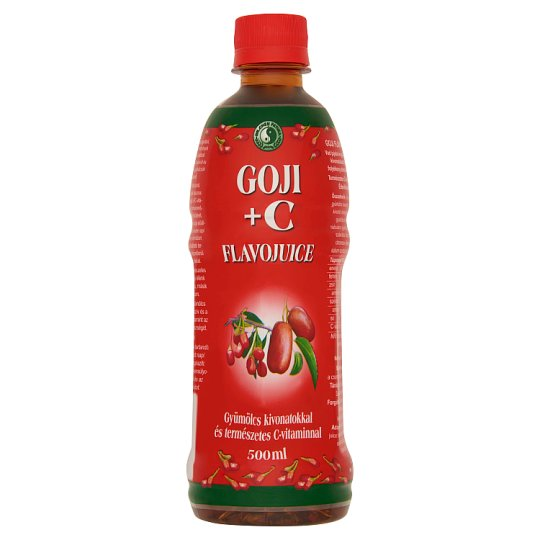Dr. Chen Patika Goji+C Flavojuice Supplement Liquid 500 ml