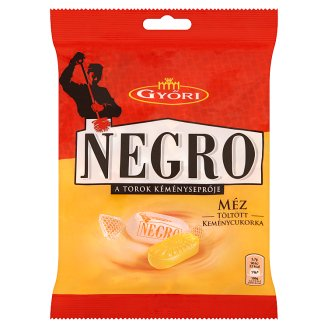 Győri Negro Honey Filled Drops 159 g