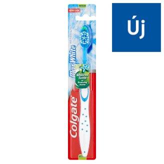 Colgate MaxWhite közepes sörtéjű fogkefe