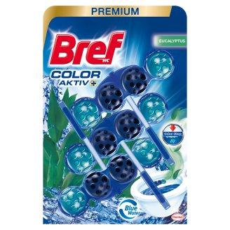 Bref Color Aktiv Eucalyptus WC-frissítő 3 x 50 g