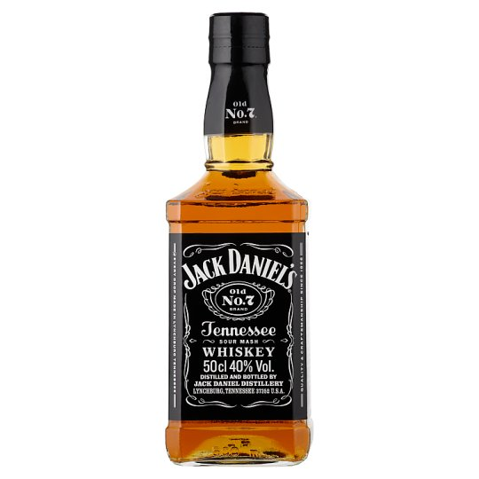 Jack Daniel's Tennessee Whiskey 40% 0,5 l