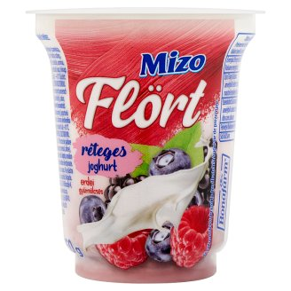 Mizo Flört Layered Yoghurt with Forest Fruits 150 g
